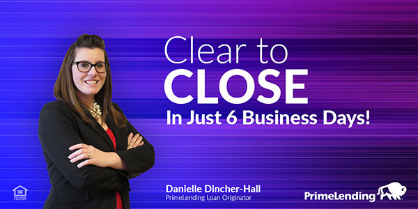 Clear to Close in just 6 business days