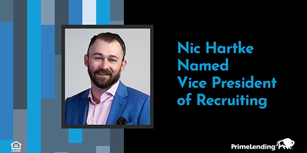 Nic Hartke Named VP of Recruiting