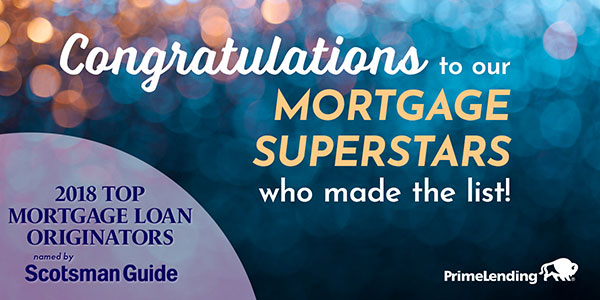 Congratulations to the Mortgage Superstars